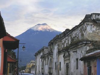 Vulkan del Fuego in Guatemala
