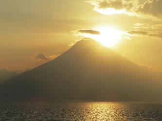 Vulkan am Atitlansee