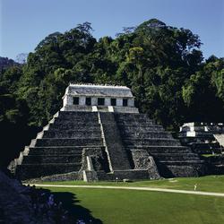 Templo de las Inscritiones, Santo Domingo de Palenque, Chiapas