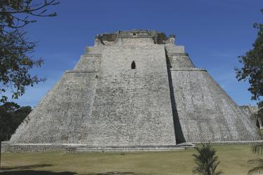 Mayapyramide von Uxmal
