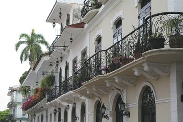 Kolonialhäuser in Panamas Altstadt