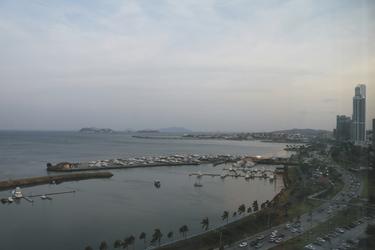 Blick auf die Altstadt Panama-Stadts