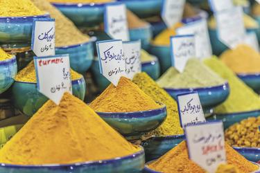 Gewürze auf dem Wakil Bazar in Shiraz - © Dario Bajurin - Fotolia