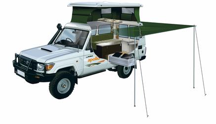 Apollo Trailfinder 4WD Allradcamper 2 Personen