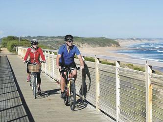 Mit dem Rad entlang der Great Ocean Road © Nature Trailz