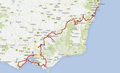 Karte Banksia Radreise © Nature Trailz