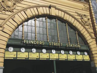 Flinders Street Station in Melbourne, ©Karawane