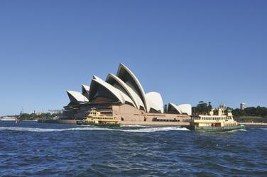 Blick auf das Opernhaus von Sydney