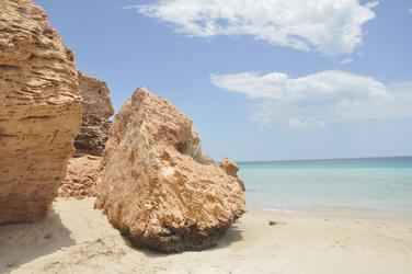 Strand in Coral Bay