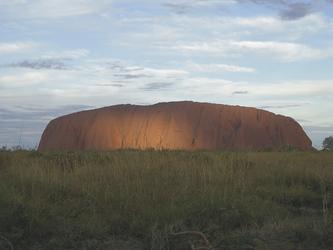 Blick auf Uluru