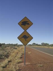 Straßenschild in Westaustralien, ©Karawane