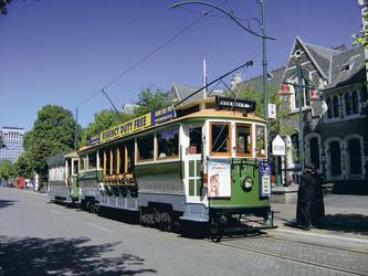 Christchurch, Tram