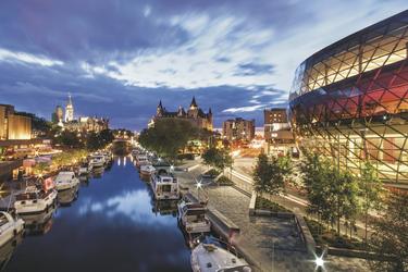 Ottawa bei Nacht - c Destination Canada, ©Destination Canada