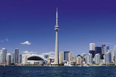 Toronto - Blick auf die Skyline