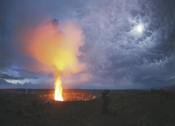 Halemaumau Krater in der Kilauea Kaldera © HawaiiTourism, ©Paul Zizka