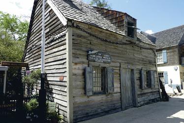 Historisches Gebäude in St. Augustine, Florida