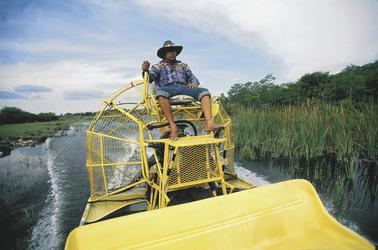 Mit dem Airboat in den Everglades- Foto: FLORIDA KEYS, KEY WEST TDC