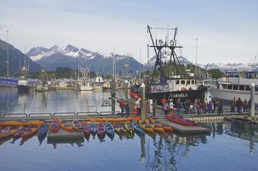 Der Hafen von Valdez, © Reinhard Pantke